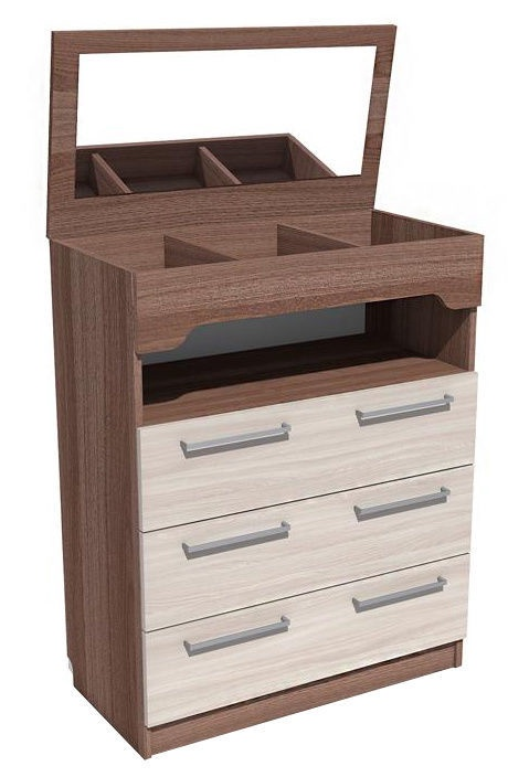 Silva Riva 2 Chest Of Drawers 82x101x42cm Ash