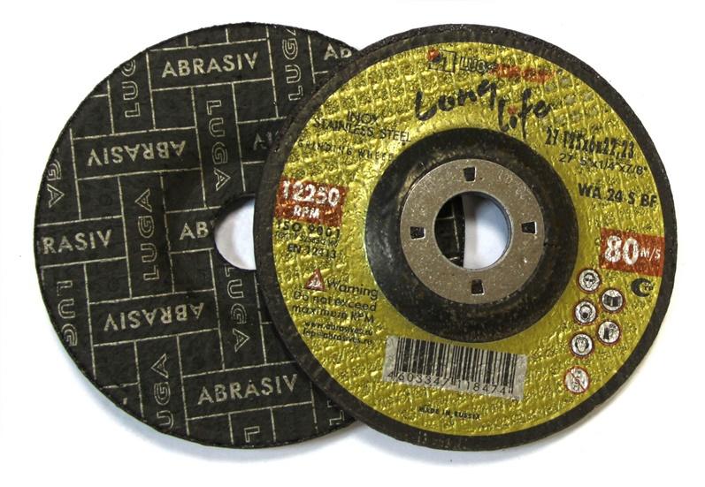Tiesus šlifavimo diskas Luga Abraziv, 150x20x32 mm