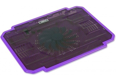 "Omega Ice Box Laptop Cooler 10""-17"" Purple"