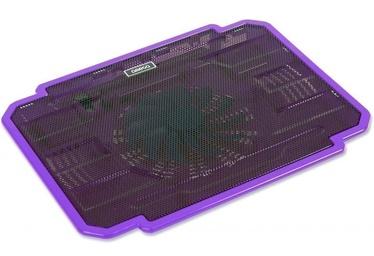 "Omega Ice Box Laptop Cooler 10""-17"" Purple"