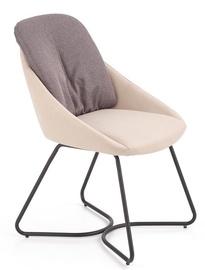 Ēdamistabas krēsls Halmar K391 Dark Grey/Light Grey, 1 gab.