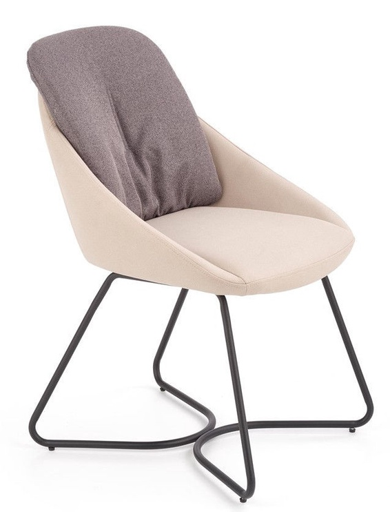 Стул для столовой Halmar K391 Dark Grey/Light Grey, 1 шт.