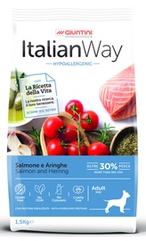 Italian Way Salmon & Herring Hypoallergenic Mini Adult 1.5kg