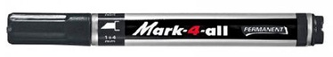 Stabilo Mark-4-All Permanent Marker Black