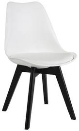 Ēdamistabas krēsls Signal Meble Kris II White/Black, 1 gab.
