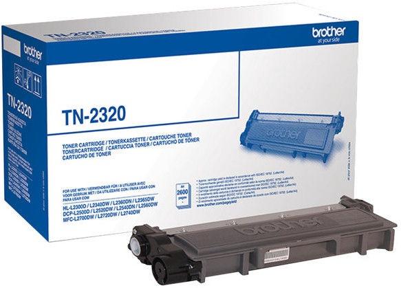 Lazerinio spausdintuvo kasetė Brother TN-2320 Black