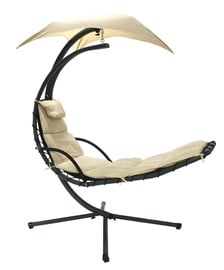 Home4you Dream Hanging Chair w/ Cover Beige