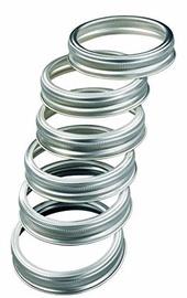 Leifheit Reusable Threaded Rings 12PCS