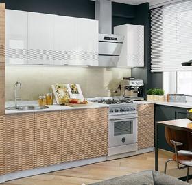 MN Wave 3D Kitchen Unit 1.8m