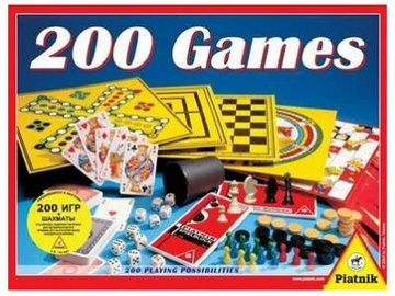 Piatnik 200 Games LV/RU
