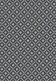Ковер 724-E LJ5, синий/серый, 140 см x 80 см