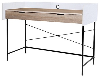 Signal Meble Writing Desk Biurko B-181 Oak/Black