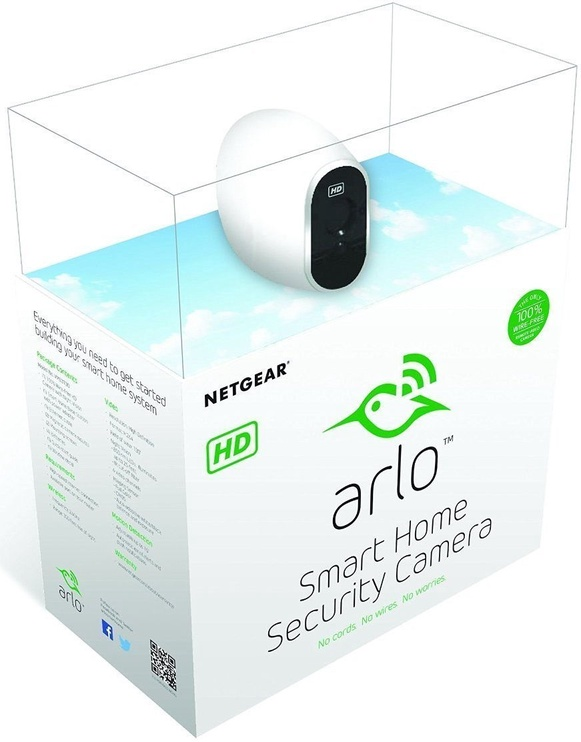Arlo Wire-Free Security System With 2 HD Cameras VMS3230