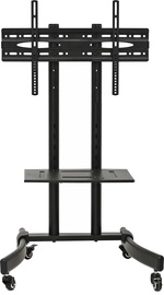 Maclean MC-739 TV Mobile Floor Stand Trolley