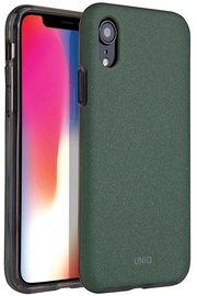 Uniq Lithos Back Case For Apple iPhone XR Olive