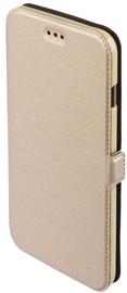 Telone Shine Book Case For Samsung Galaxy J5 J510 Gold