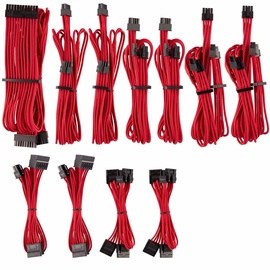 Corsair Premium Individually Sleeved PSU Cables Pro Kit Type 4 Gen 4 Red
