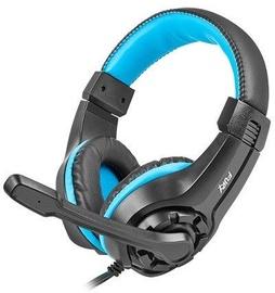 Ausinės Natec Fury Wildcat Black/Blue