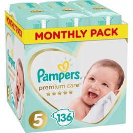 Pampers Pants Premium Care S5 136