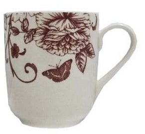 Claytan Shabby Chic Pink Breakfast Cup 370ml