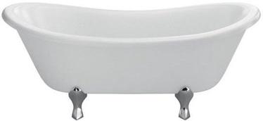 Burlington Bateau Bath White 164x72
