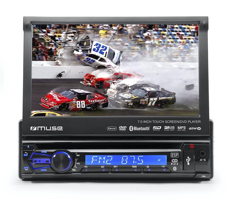 Automobilinė magnetola Muse DVD BT M-728DR