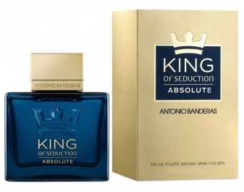 Tualetes ūdens Antonio Banderas King of Seduction Absolute 50ml EDT