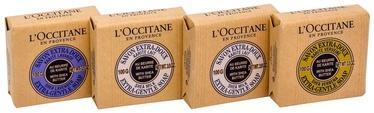 L´Occitane Shea Lavender Extra Gentle Soap 100g + 2x100g Shea Milk Soap + 100g Shea Verbena Soap