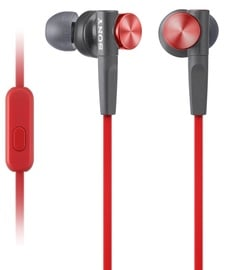 Ausinės Sony XB50AP Extra Bass Red