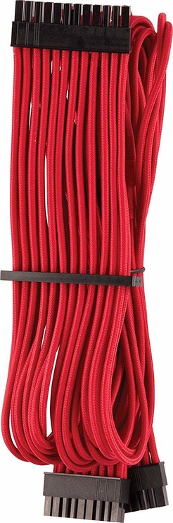 Corsair Premium Sleeved 24-pin ATX cable Type 4 Gen 4 Red