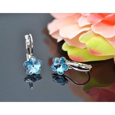2cc7623ef36 Vincento Earrings With Swarovski Elements Rivoli Flower VE-2268 - Krauta.ee