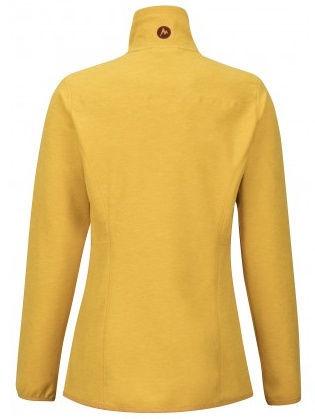 Marmot Womens Fleece Jacket Pisgah Yellow Gold L