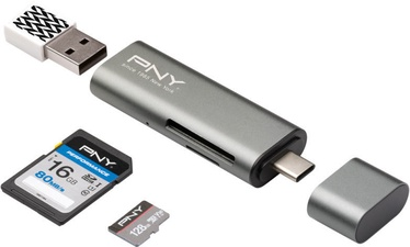 PNY USB-C Card Reader - USB Adapter