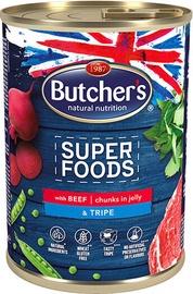 Влажный корм для собак Butchers Super Foods, 0.4 кг