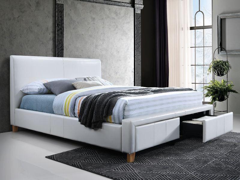 Signal Meble Bed Neapoli White 171x221cm