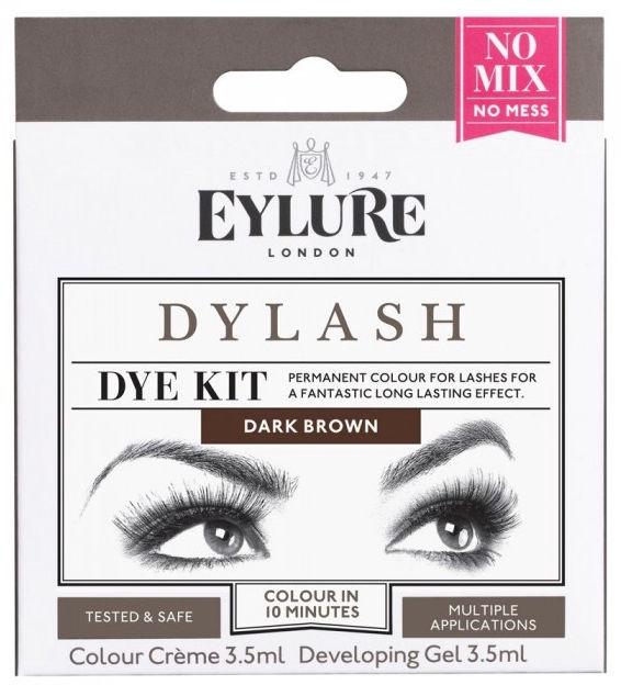 Eylure Dylash Dye Kit 7ml Dark Brown