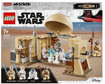 Конструктор LEGO Star Wars Хижина Оби-Вана Кеноби75270, 200 шт.