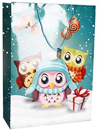 Verners Gift Bag Christmas Owls 389673