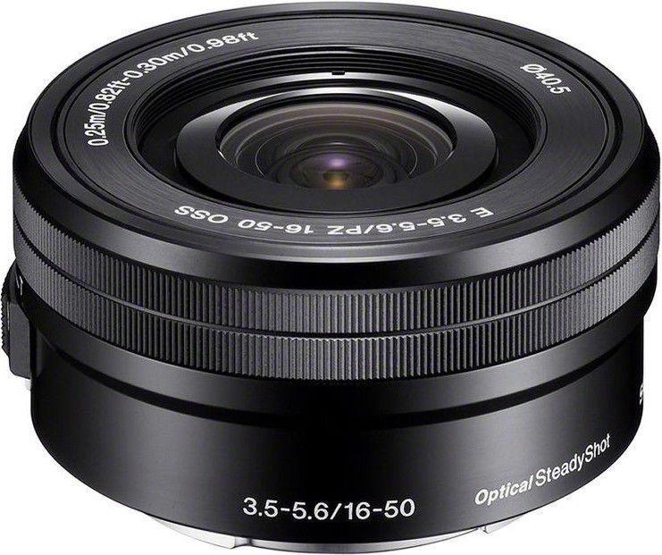Objektyvas Sony E 16-50mm f/3.5-5.6 OSS PZ