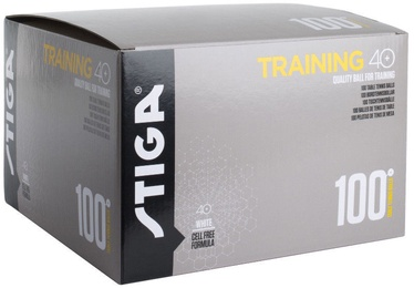 Stiga Training 40+ Table Tennis Balls 100pcs White