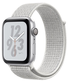 Apple Watch Series 4 44mm NIKE+ Aluminium Silver/White Loop