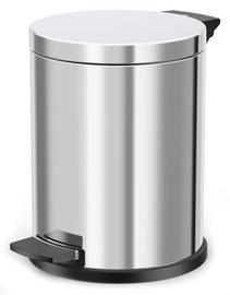 Hailo Solid M Garbage Bin 12l Stainless Steel