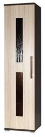 Jurek Meble Inez Plus Reg 4 Wardrobe Dark Ash/Ash