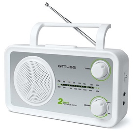 Muse M-06SW Portable Radio White