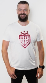 Dinamo Rīga Men T-Shirt White/Red XXL