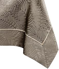 AmeliaHome Gaia Tablecloth PPG Cappuccino 140x500cm