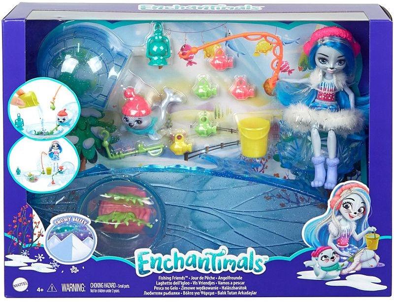 Кукла Enchantimals Fishing Friends GJX48