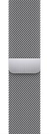 Ремешки Apple 41mm Silver Milanese Loop, серебристый