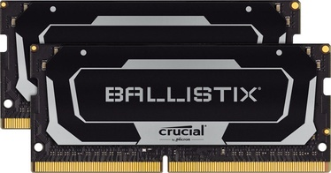 Crucial Ballistix Black 32GB 2666MHz CL16 DDR4 SO-DIMM KIT OF 2 BL2K16G26C16S4B (bojāts iepakojums)