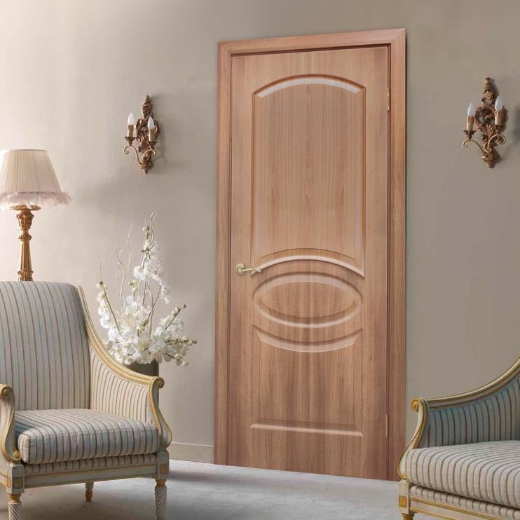 Полотно межкомнатной двери Omic Door Lika Pvc Golden Oak 800x2000mm